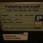 Gode Gud! Kroner 48,- pr time!!! Europark med grisedyr parkering på Gardermoen! Er det Norges dyreste?
