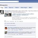 Hvorfor er Aftenposten på Facbook? Det er ikke mulig å poste innlegg på wall'en! Hva driver Aftenposten med?