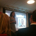 Retorikk er kunsten å få folk til å lytte - Intet mer, intet mindre :) Elaine Bergqvist imponerer!