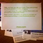 Her er Facebook-kortene mine! NICE! Slik kan du få dine egne visittkort helt gratis :)