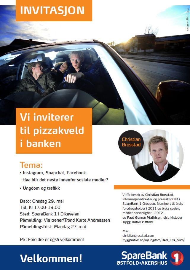 Invitasjon Ung og trafikk 2013