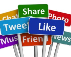 sosiale medier