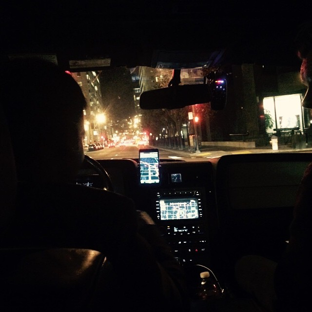 Uber ride in San Francisco