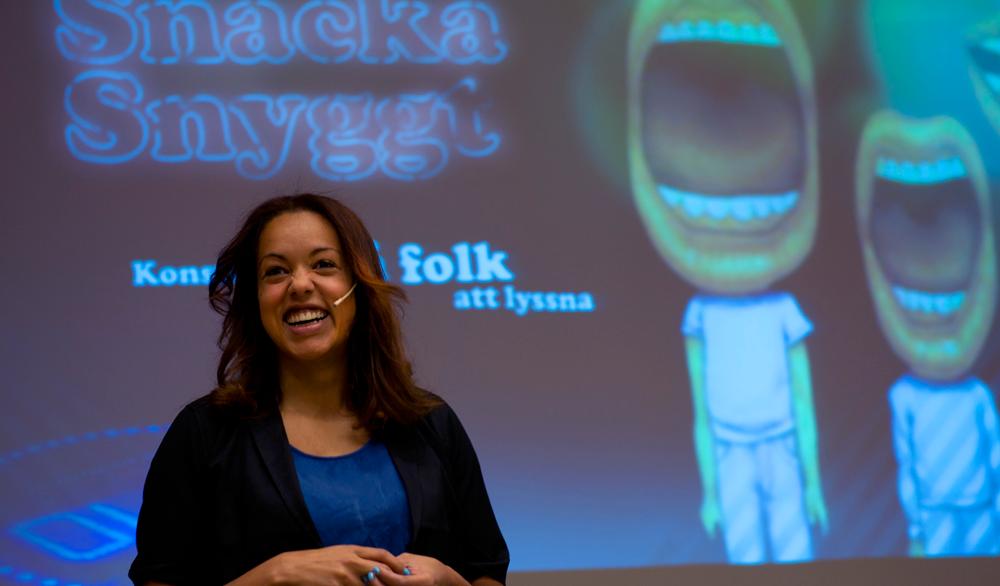 Elaine-Eksvärd-retorikk-SpareBank-1-og-Creuna-seminar