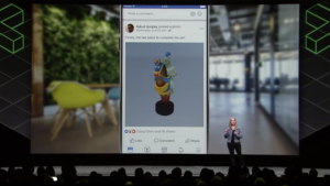 Facebook event VR virtual reality